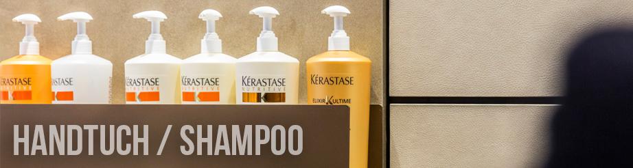 Handtuch / Shampoo