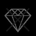 ohne Kristall