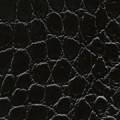 schwarz, glänzend, Krokodil - +60,00€