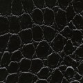 schwarz, glänzend, Krokodil - +101,00€