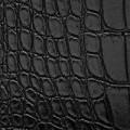 S9 - schwarz, glänzend, Krokodil
