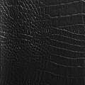 49 - schwarzbraun, glänzend, Krokodil