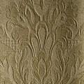 24 - altgold, glänzend, florale Muster