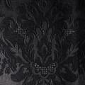 25 - schwarz, glänzend, florale Muster