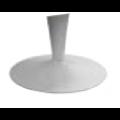 Aluminium Tellerfuß mit Bein, pulverbeschichtet - +60,00€