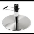 Edelstahl Tellerfuß mit arretierbarer Hydraulikpumpe - +205,00€