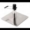 Edelstahl Bodenplatte mit arretierbarer Hydraulikpumpe - +195,00€