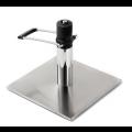 Edelstahl Bodenplatte mit arretierbarer Hydraulikpumpe - +205,00€