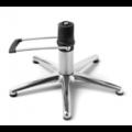 Aluminium Fünffuß mit arretierbarer hydraulischer Pumpe - +120,00€