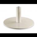 Aluminium Tellerfuß mit arretierbarer Hydraulikpumpe, pulverbeschichtet