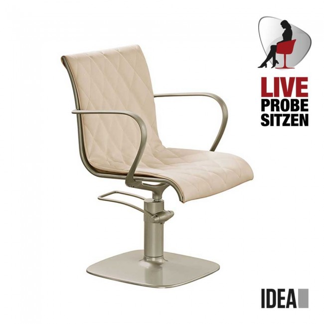 Friseurstuhl Alu Chair