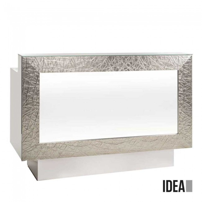 Rezeption Graphic Desk Argent